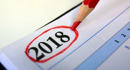calendar 2018 year