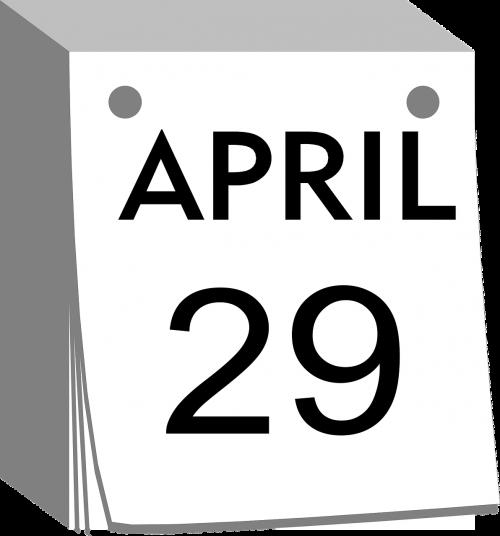 calendar tear-away date