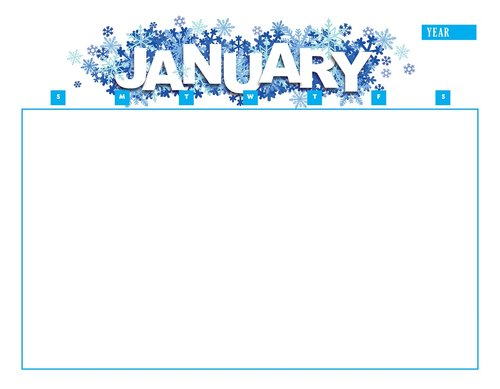 calendar  january  year