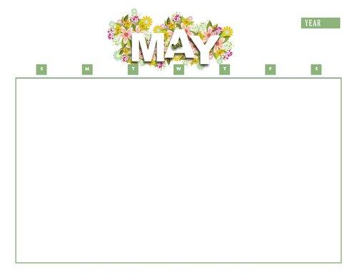 calendar  may  year