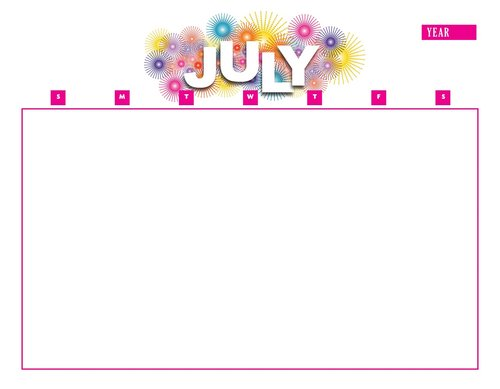 calendar  july  year