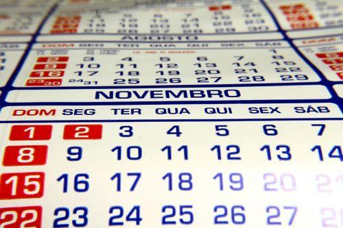 calendar leaflet dater