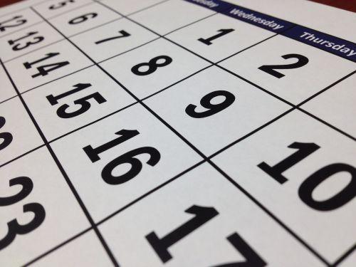 calendar date time