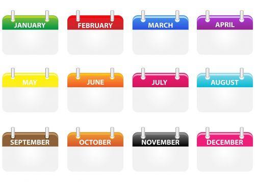 calendar icons calendar icons