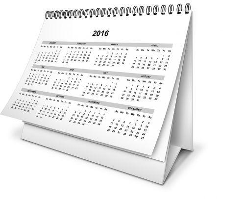 calendar year month