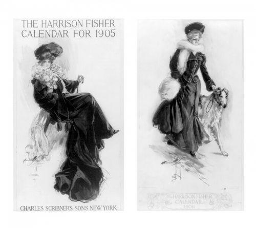 Calendar Girls By Harrison Fisher