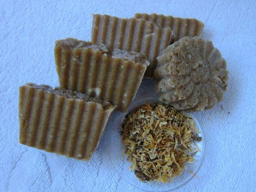 calendula soap natural soap cosmetics