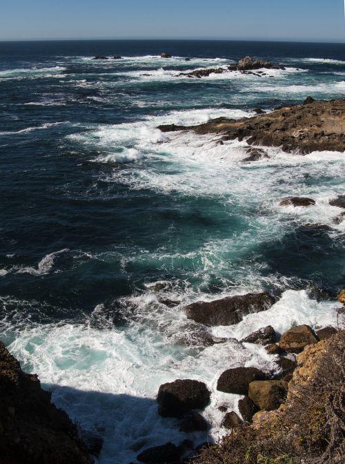 california coast sea