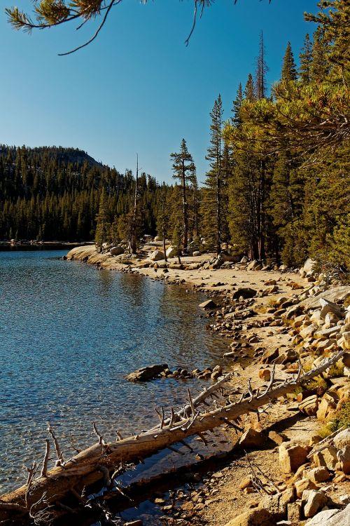 california yosemite lake