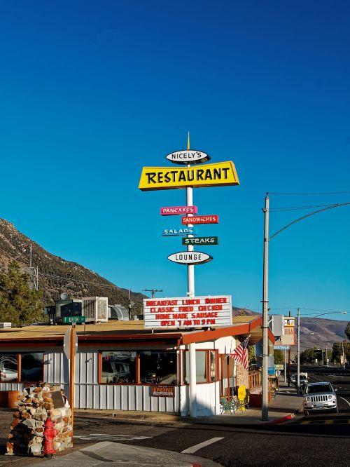 california mono lake diner