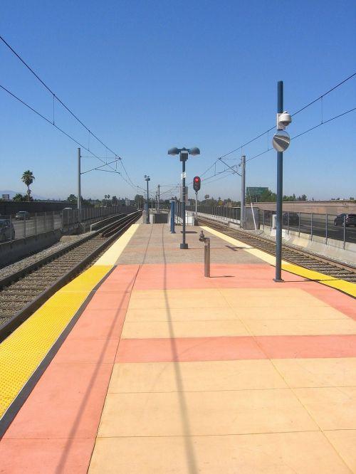 california train railroad