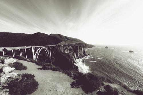 california bixby bridge pacific coast highway