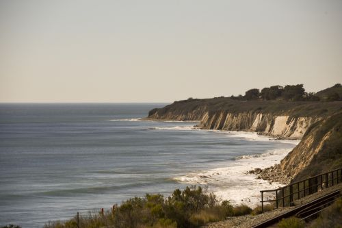 California Beach Coastline