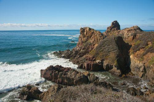 California Coast Cliffs