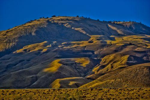 California Desert Hills