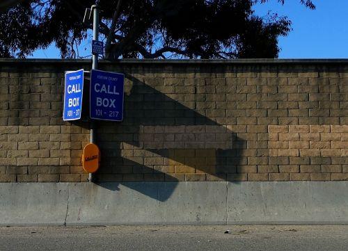 call box freeway interstate