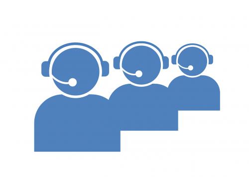 call center icon call