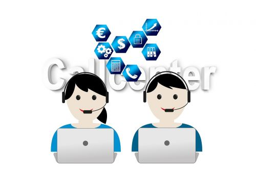 call center headset service