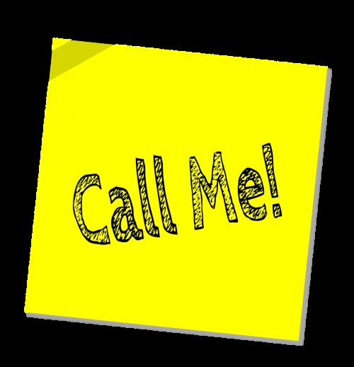 call me contact call