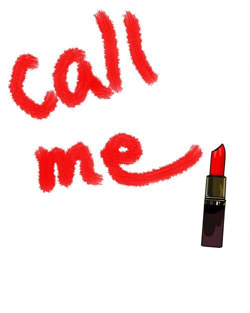 Call Me In Lipstick