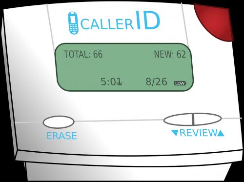 caller id caller identification cid