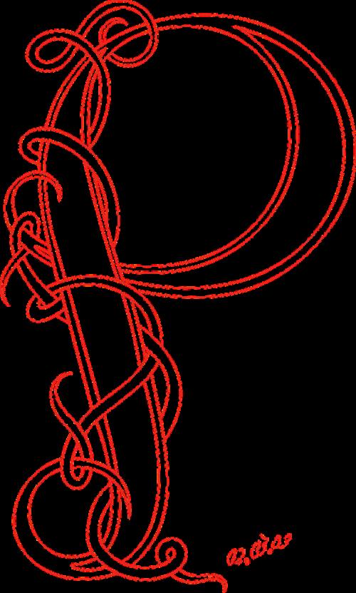 calligraphy celtic fancy
