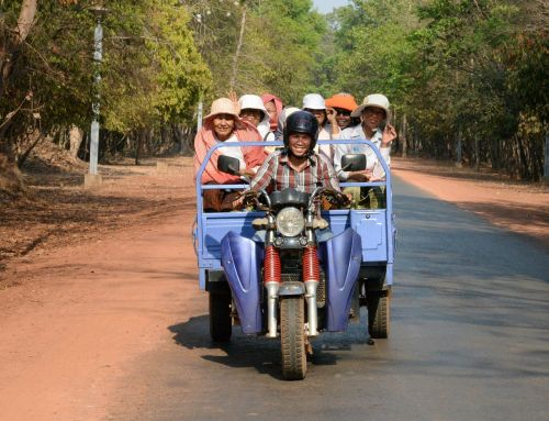 cambodia khmer scooter