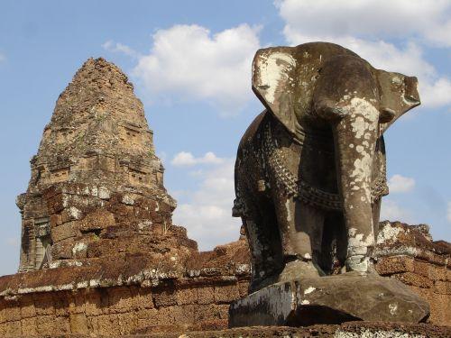 cambodia angkor old