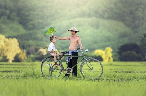 bicycle his son relationship