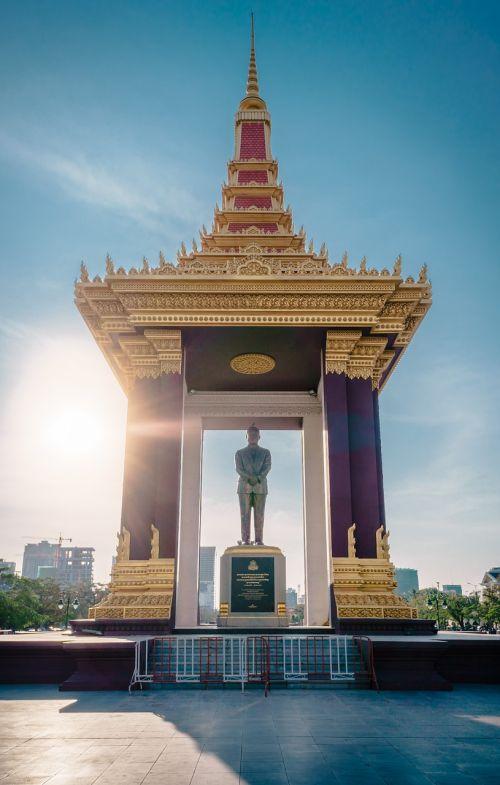 cambodia phnom penh independence square