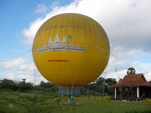 cambodia hot qi ball landscape