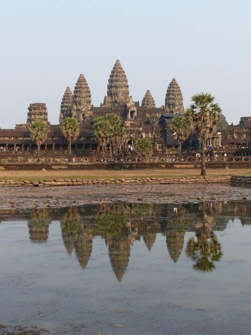 cambodia angkor wat temple complex