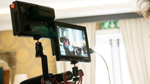 camcorder camera display