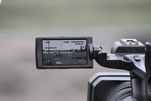 camcorder  sony  tv