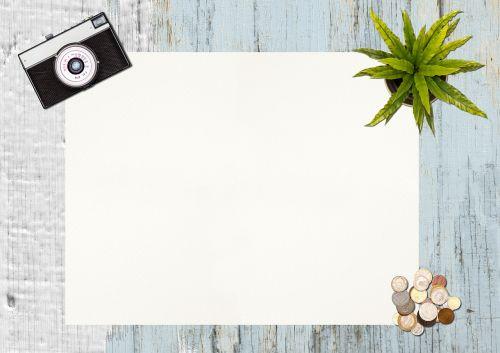 camera plant desk