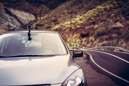 camera car road