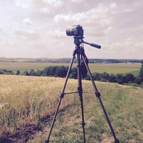 camera tripod lens