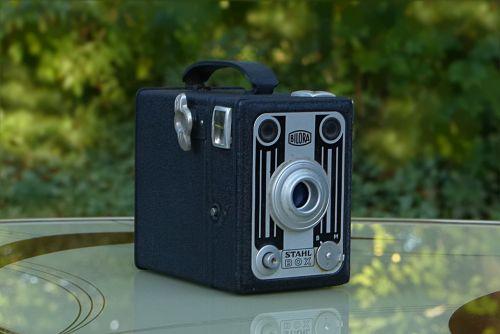 camera photo box old