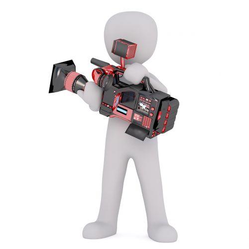 camera video camera man
