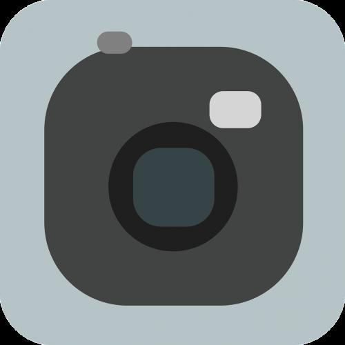 camera photo flat