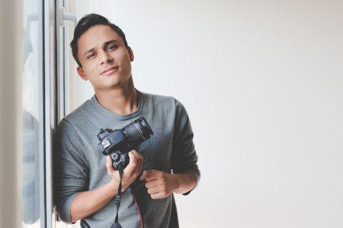 fotoaparatas,vyras,asmuo