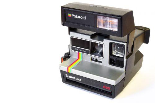 camera polaroid analog