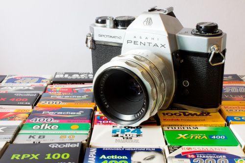 camera analog pentax