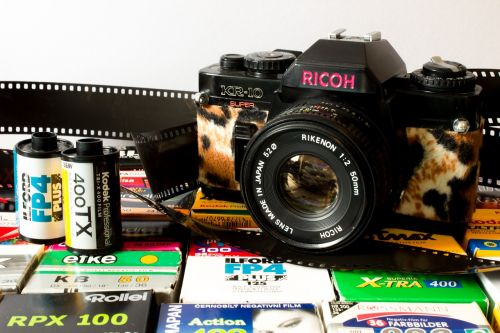 camera analog ricoh