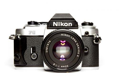camera nikon analog