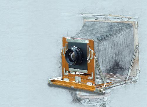camera old art