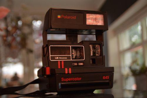 camera polaroid vintage