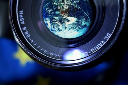 camera earth photograph