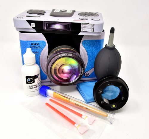 camera sensor cleaning led magnifying glass