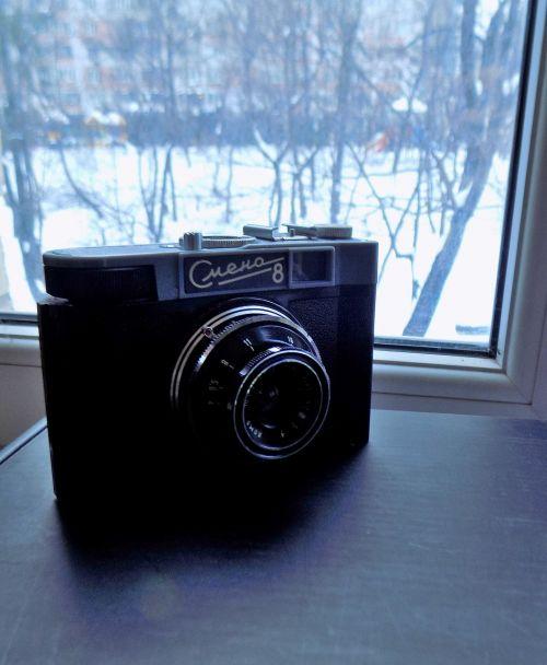 camera old soviet